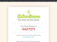 Prinagram - Order status page