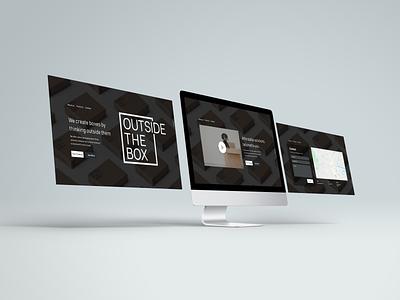 Daily UI Challenge - 003 homepage landingpage uxui interfacedesign dailyui003 design ui dailyui adobe xd
