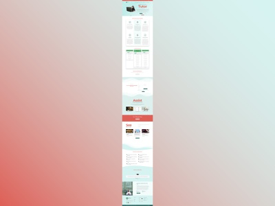 Al-Furqaan Academy Website web design web development website design ui  ux
