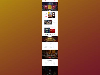 Yahya Biryani Center web design web development website design ui  ux
