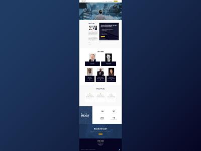 Cicero Investment Group Website web design web development website design ui  ux