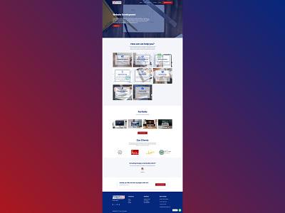 Foison Technologies web design web development website design ui  ux