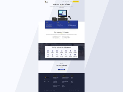 Beepos web design web development website design ui  ux