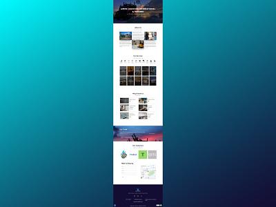 Ali & Traders web design website design web development ui  ux
