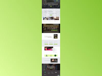 Labaik Pakistan Organization web design website design web development ui  ux
