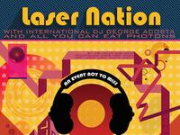 Laser Nation Event Poster