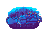 Blade Runner Car 2019