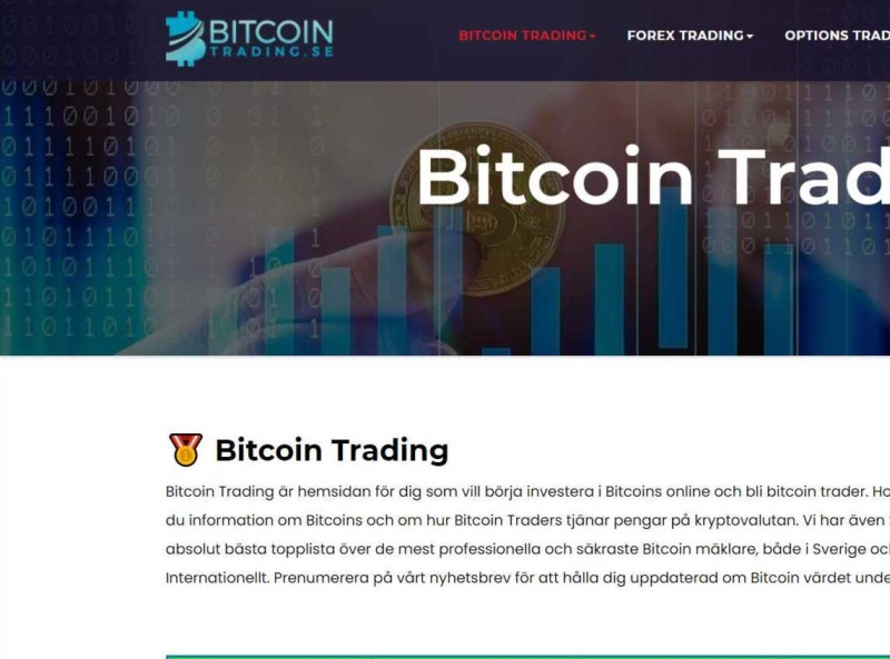 bitcoin trading sverige)