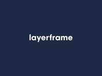 Layerframe - Brand Text Lockup