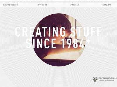 Creating Stuff web design new site