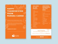 Thanksgiving Basket Giveaway Print Collateral