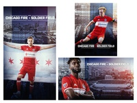 Chicago Fire Solider Field Announcement Graphics