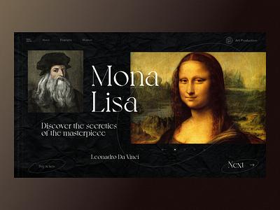Mona Lisa voyage vintage font serbian designer balkan ui montenegro croatia secret contrast black masterpiece best painter art leonardo da vinci paper old paper old vintage mona lisa