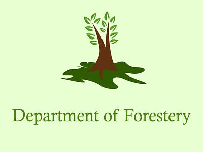 Tree Logo vector illustration minimalist logo graphic design logo design plantation