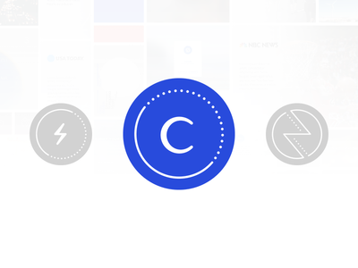 Current by Capture: The Logo mark graphic design ios android current design circle branding blue logo app