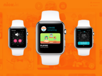 Nick Jr. for Apple Watch: The Interface