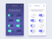 Tell Me What You Like: A Preference Rating UI Concept