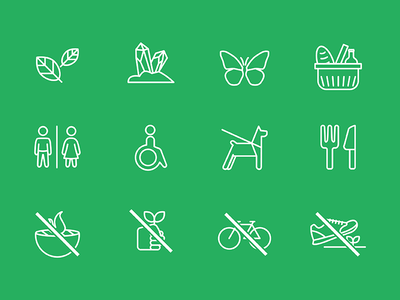 Some icons for Natural History Museum