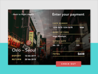 Daily UI 002 – Credit card checkout