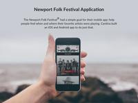 Newport Folk Festival App Case Study