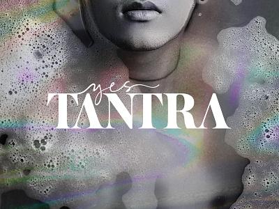 Yes Tantra serif logo branding