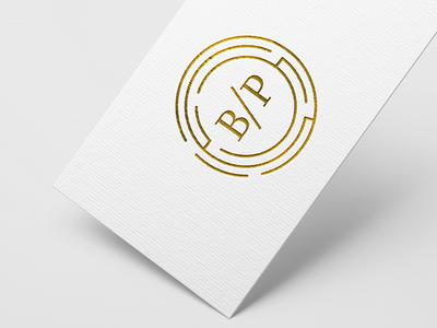 Bsp labyrinth serif logo branding