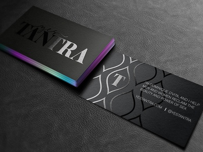 Yes Tantra Business Cards