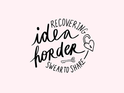 Idea Horder | Pin Concept Sketch pin design illustration lettering
