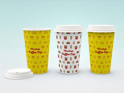 Deluxe Coffee Cup Mockup vector ui logo illustrator illustration website animation graphic design design branding mockup cup coffee deluxe