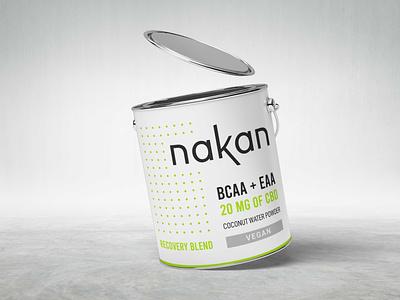 Coconut Powder Container Mockup design graphic design website branding freebies container mockup jar can powder coconut nakan