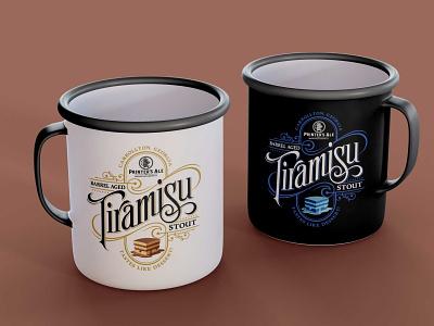Tiramisu Organic Tea Cup Mockup organic tea freebies mockup mug cup tiramisu illustrator illustration website animation graphic design design branding