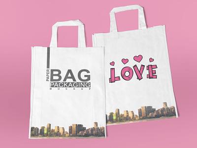 Nylon Bag Mockup new packaging bag freebies mockup graphic design illustrator illustration website design branding