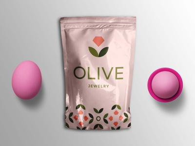 Olive Jewelry Pouch Mockup foil freebies mockup pouch jewelry olive illustrator illustration website graphic design design branding