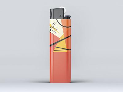 Premium Lighter Design Mockup smoking premium cigarettes lighter new freebies mockup illustrator illustration website animation graphic design design branding