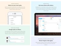 WeDo Landing Page Redesign