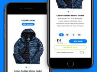 Daily Deals - App Prototype Design