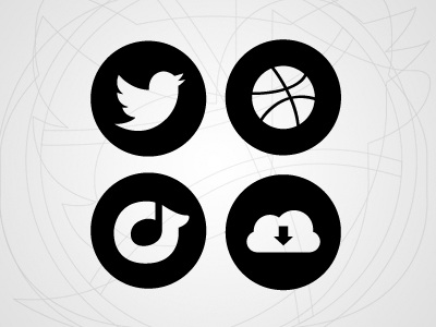 Personal Website Symbol Font font icon symbol free download twitter dribbble rdio