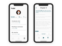 Mint Reading App Redesign By Yodel Hou Dribbble Dribbble