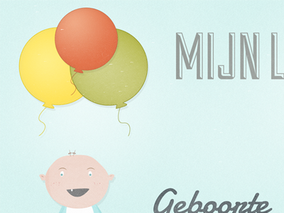 Balloon & baby babt balloon