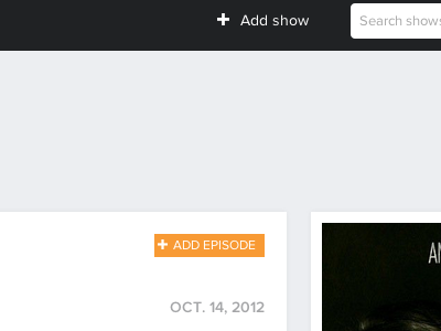 A little something episode show search poster date service api