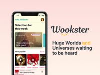 Wookster. Audiobooks Application