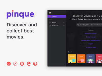 Pinque. Discover and collect best movies