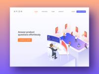 Apxor Landing Page