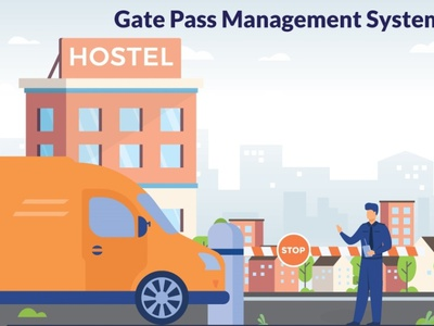 Hostel Gate Pass Management System best school erp software