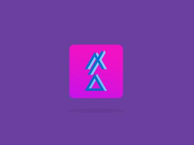 Tune in, turn on, drop out apple ios 7 acid flat logo logotype fuckingdesign