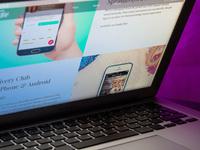 Website big dribbble 1