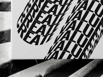 New wave. Values poster design poster art poster typographic illustration typography art type art typographic typography type