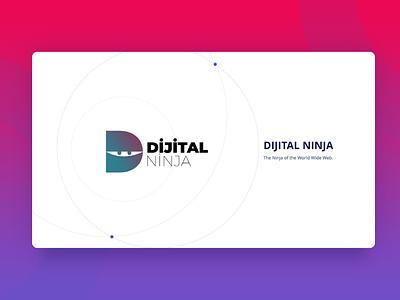 Dijital Ninja Cover Page company presentation presentation design powerpoint design digital presentation dijital ninja