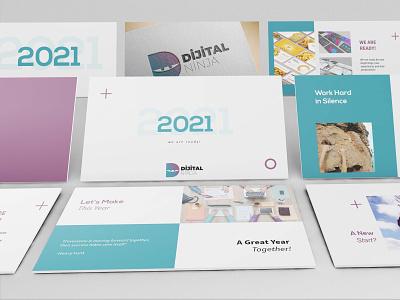 2021 Presentation - We are ready! dribbbleweeklywarmup company branding presentation design ideas business presentation 2021 company presentation 2021 presentation designer 2021 presentation presentation design
