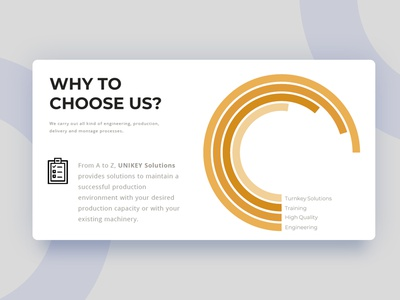 """""""Why to choose us"""" page for a sales presentation. presentation page company branding company presentation presentation designer powerpoint design presentation design sales presentation sales deck"""